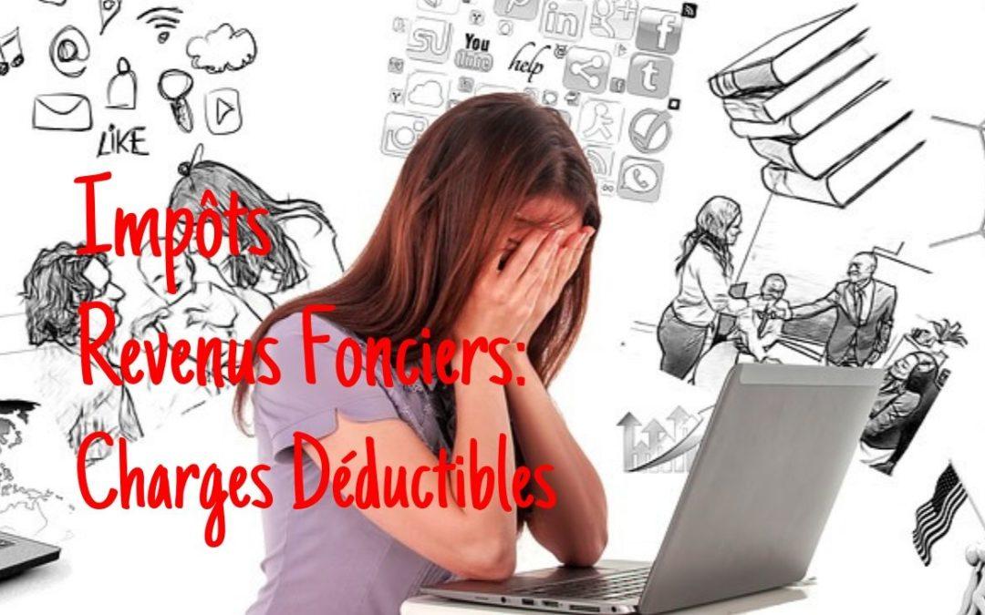 Immo Pour Tous Revenus Fonciers Les Charges Deductibles