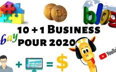 10 idées de Business pour se lancer en 2020